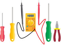 multimeter Fotografia Stock