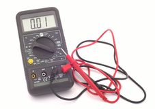 Multimeter. Tool royalty free stock photography