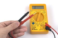 Multimeter. Digital Multimeter Royalty Free Stock Image