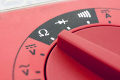 Multimeter close-up Royalty Free Stock Images