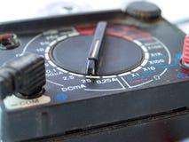 Multimeter des Elektrikers Lizenzfreie Stockfotos