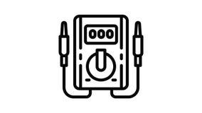 Multimeter icon animation
