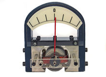 Multimeter measuring device Stock Image