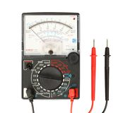 Multimeter with probe Stock Photo