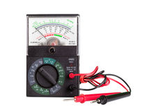 Multimeter with probe Stock Photography