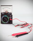 Multimeter with probe Royalty Free Stock Images