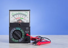 Multimeter with probe Stock Images