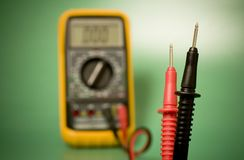 Multimeter probes Royalty Free Stock Photos