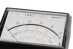Multimeter scale Stock Images
