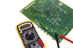Multimeter, special electrical measuring equipment Stock Image