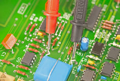 Multimeter test probes Stock Photography