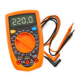 Multimeter, tester isolated Stock Photography