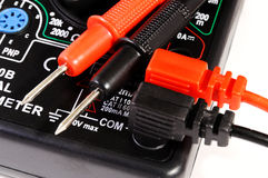 Multimeter with two contacts Royalty Free Stock Photo