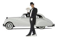 Multimilionário nas rodas Imagem de Stock Royalty Free