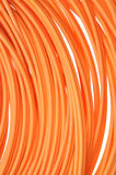 Multimode fiber optical cables Royalty Free Stock Photography