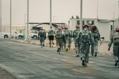 Multinationell styrka för USA och marsch för observatörer MFO Arkivfoton
