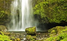 Multinomah Falls spring Stock Photo