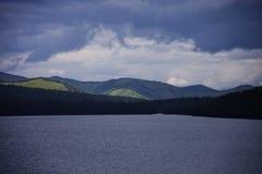 Multinskiye lake, Altai mountains landscape Royalty Free Stock Photography
