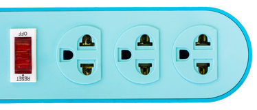 Multiple asian plugs Stock Image