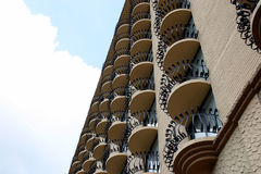 Multiple balconies 1 Royalty Free Stock Image