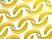 Multiple bananas. Bananas in multiple view Stock Image