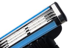 Multiple blade razor Stock Images