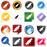 Multiple Buttons - Bird Stock Images