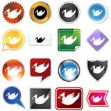 Multiple Buttons - Cardinal Stock Image
