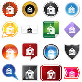 Multiple Buttons - Church Stock Images