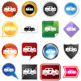 Multiple Buttons - Racecar Royalty Free Stock Images