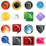 Multiple Buttons - Sagittarius Stock Photo
