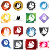 Multiple Buttons - Virgo Royalty Free Stock Photography