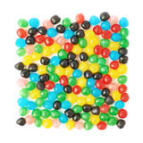 Multiple candy ball sweets isolated Royalty Free Stock Images
