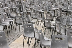Multiple chairs Stock Image