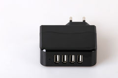 Multiple charger for smart phones Royalty Free Stock Photo