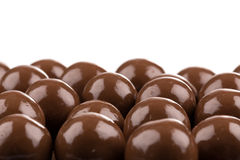 Multiple chocolate ball candies Royalty Free Stock Photography