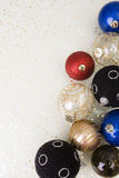 Multiple christmas ball Royalty Free Stock Photo