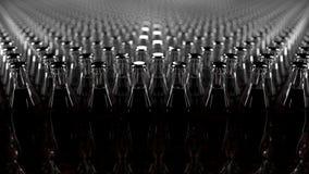 Multiple cola bottles royalty free illustration