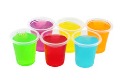Multiple cold jellies Stock Images