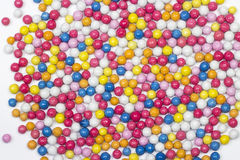 Multiple colorful ball candy sweets Royalty Free Stock Photos