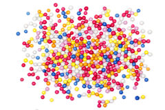 Multiple colorful ball candy sweets Royalty Free Stock Photography