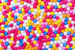 Multiple colorful ball candy sweets Royalty Free Stock Photo