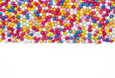 Multiple colorful ball candy sweets Royalty Free Stock Image