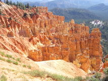 Multiple crags in Bryce Canyon Royalty Free Stock Photography