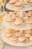 Multiple cupcakes Royalty Free Stock Images