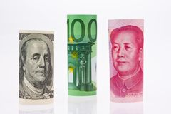 Multiple Currencies Stock Photos