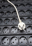 Multiple dark outlet Royalty Free Stock Photo