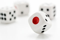 Multiple dice Royalty Free Stock Photos