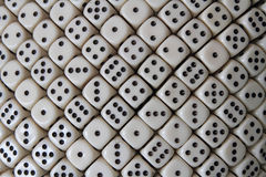Multiple dice Stock Photos