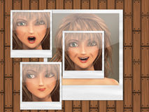 Multiple faces Royalty Free Stock Photo